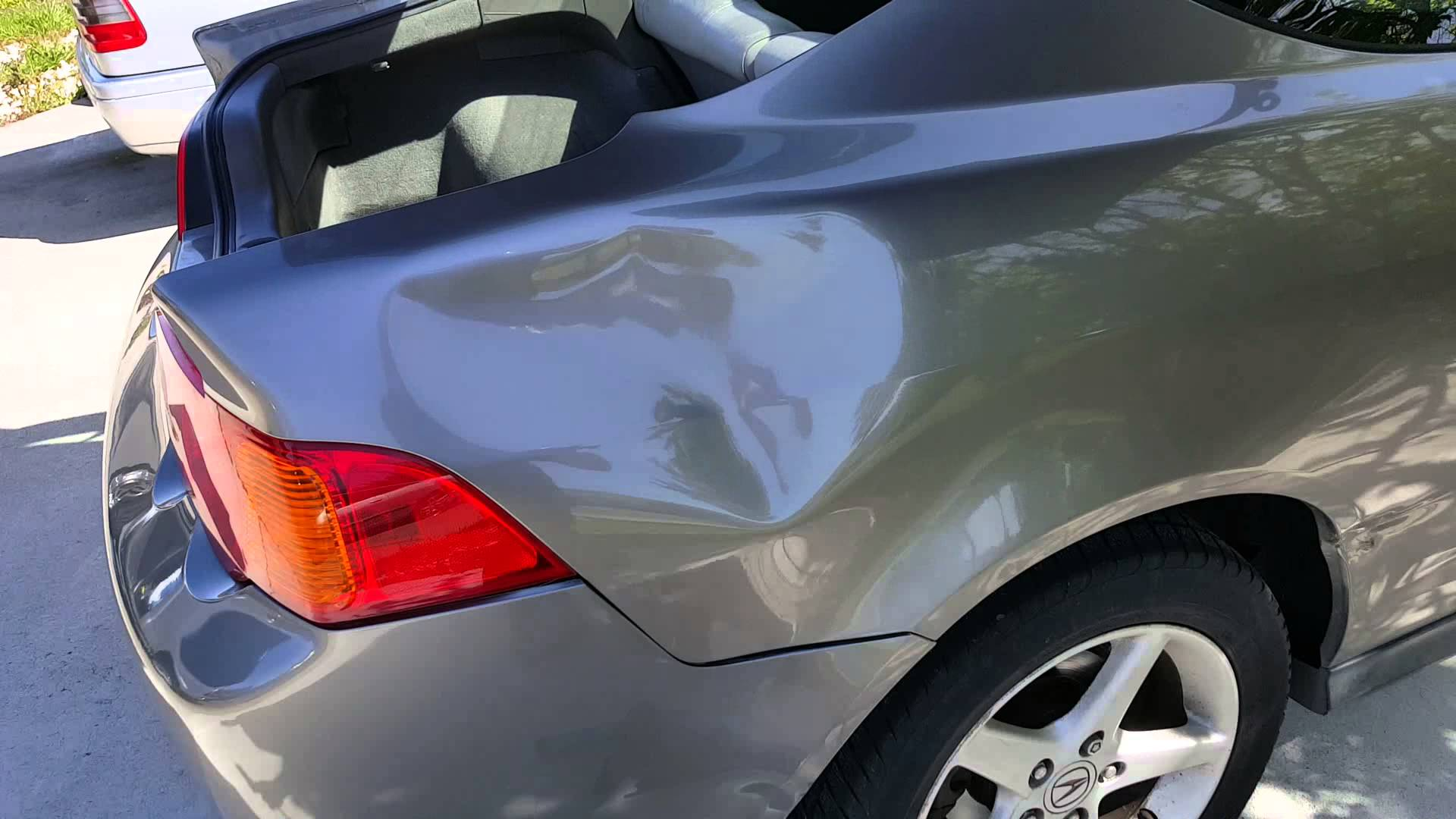What sized dents can be repaired with paintless dent repair