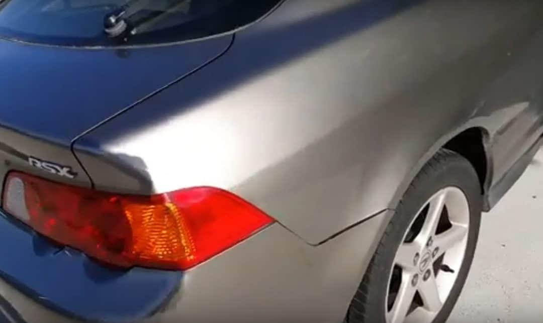 Napa-vallejo big dent paintless dent repair…after!