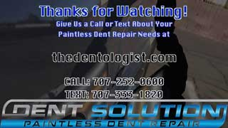 (Video) Paintless Dent Repair Napa, CA Jeep Grand Cherokee
